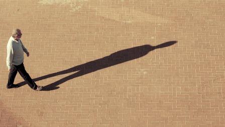 človek in njegova senca